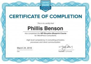 WP Elevation WordPress Certification